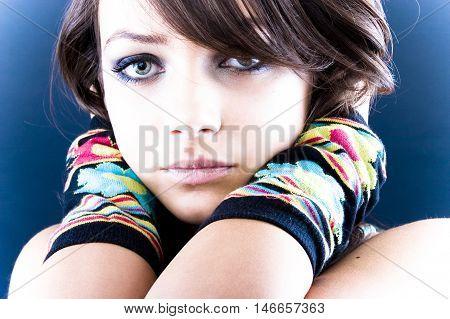 Lonely Teen Beauty
