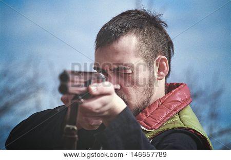 Aiming Shotgun