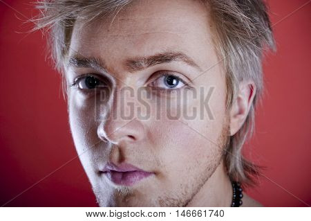Young Man Face