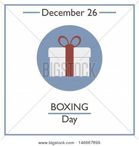 Boxing Day. December 26