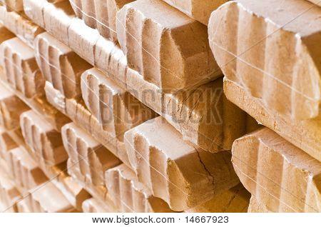 Wood Briquet