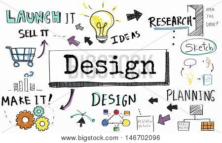 Design Ideas Create Planning Vision Concept