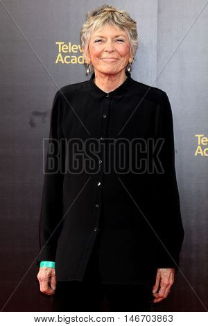 LOS ANGELES - SEP 10:  Linda Ellerbee at the 2016 Creative Arts Emmy Awards - Day 1 - Arrivals at the Microsoft Theater on September 10, 2016 in Los Angeles, CA