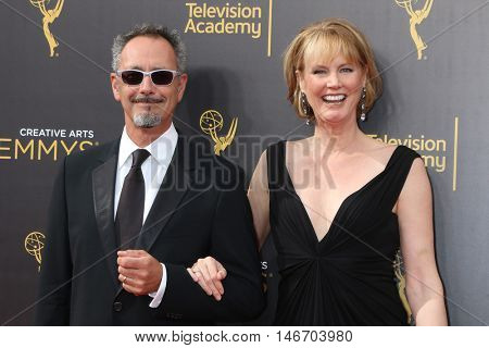 LOS ANGELES - SEP 10:  Lev L. Spiro, Melissa Rosenberg at the 2016 Creative Arts Emmy Awards - Day 1 - Arrivals at the Microsoft Theater on September 10, 2016 in Los Angeles, CA