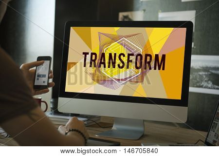Transform Create Design Style Word Concept