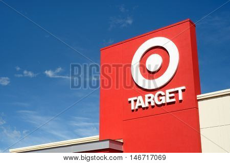 Target retail store located in the Hamilton Crossings shopping center in Lower Macungie Township, Pennsylvania on September 11, 2016.