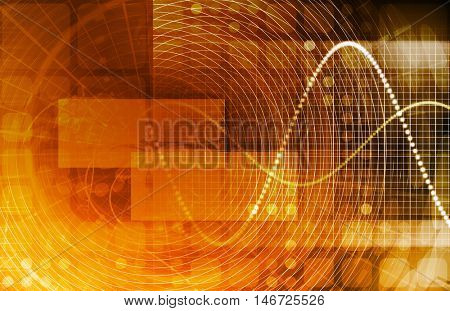 Data Stream of Internet Digital Information Moving