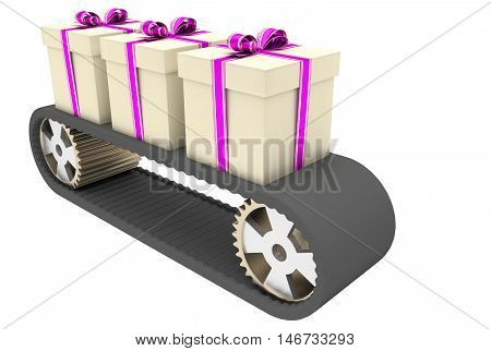 Conveyer Belt And Gifts