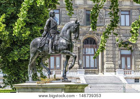 Monument To Emperor Franz First Austrian. Vienna. Austria