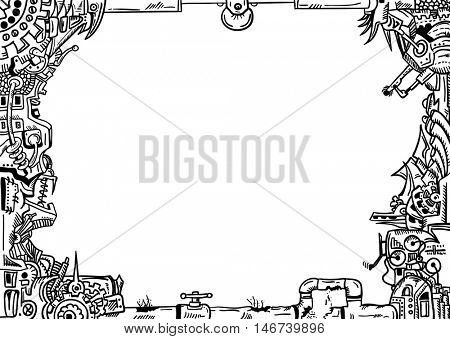 vector - isolated on background - Frame