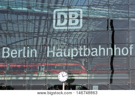 German Railway Logo