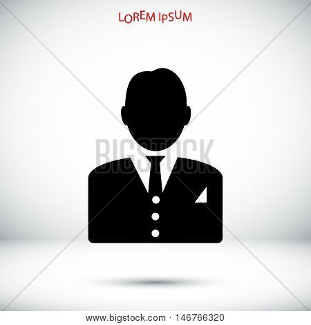 Man In Business Icon