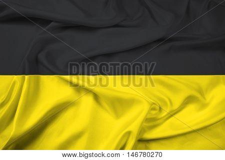 Waving Flag Of Namur, Wallonia Region, Belgium