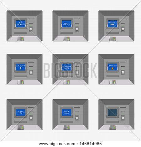 Set Of The Flat Vector Atm Machines.