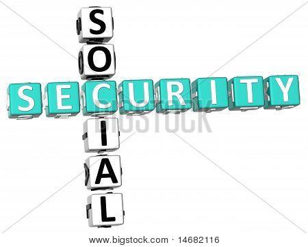 Crucigrama de la seguridad social