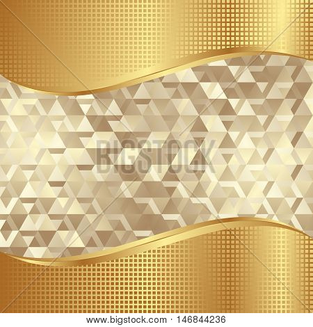 golden background with texture and copy space