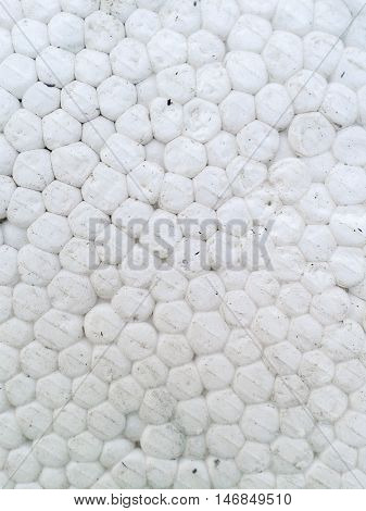 close up Foam plastic texture for background