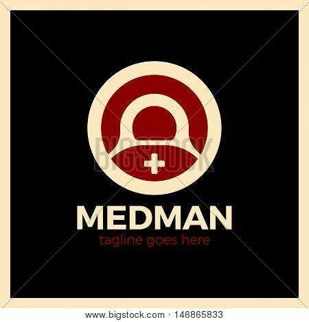 Medical Logo - The Concept For Sign A  Institution,  Center, Foundation, Organization, Association,