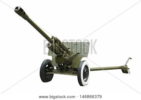 122 -mm howitzers (M - 30 ) of the Soviet army in 1942 sample . It was used during the Second World War
