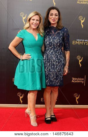 LOS ANGELES - SEP 11:  Kym Douglas, Avra Douglas at the 2016 Primetime Creative Emmy Awards - Day 2 - Arrivals at the Microsoft Theater on September 11, 2016 in Los Angeles, CA