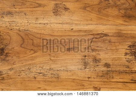 Old Antique Mahogany Table Top Wood Background