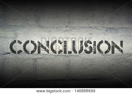 Conclusion World Gr