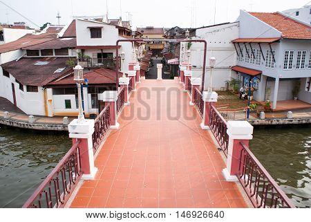 Old Part Of Town. Melaka City, Malaysia