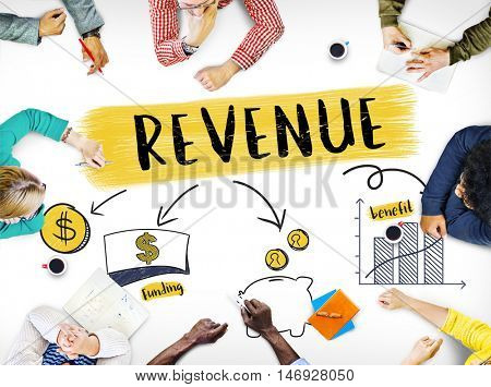 Finance Accounting Business Marketing Profit Revenue Trade Concept