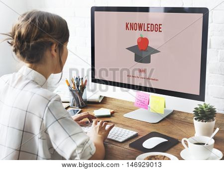 Knowledge Education Graduation Successful College Concept