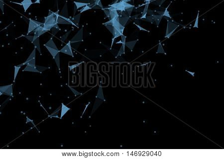 3d illustration abstract background