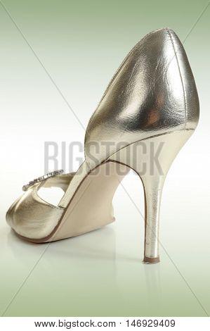 Lady?? shoe studio isolated on white background