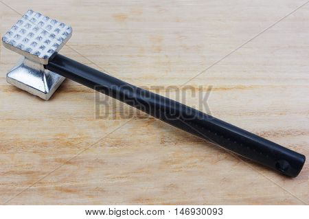 Beef hammer tool  for cooking in kitchen