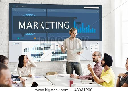 Marketing Research Business Start up Organization Concept
