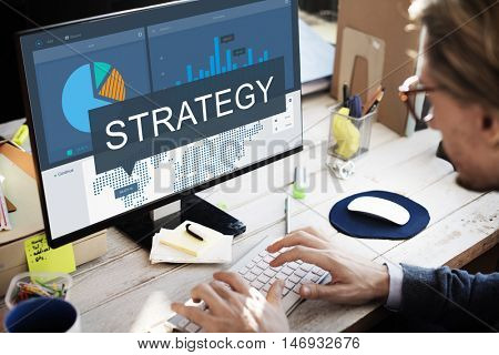 Organization Strategy Marketing Research Concept