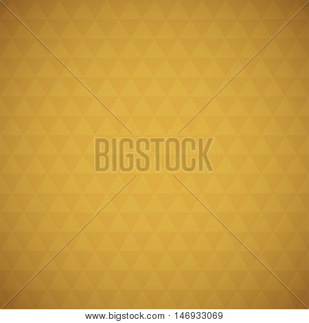 Abstract brown triangle background, simple vector illustration