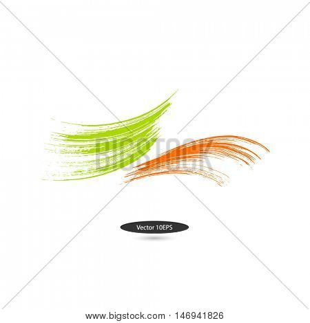Blots. Abstract logo. Element for design.