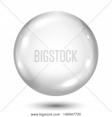 Opaque Gray Sphere
