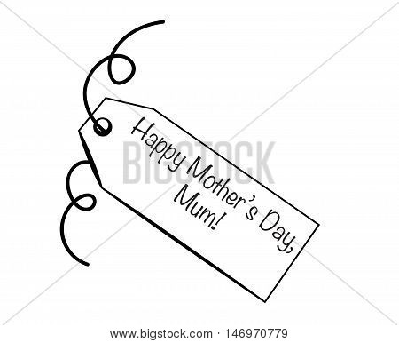 Happy Mothers Day Mum Special Gift Tag