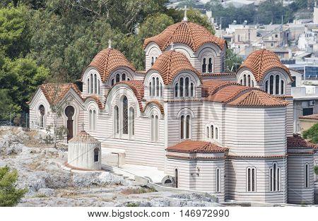 The Church Of Agia Marina, Athens, Greece