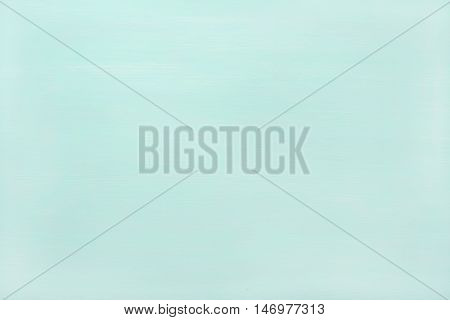 Pastel mint color painted wooden texture, wallpaper and background