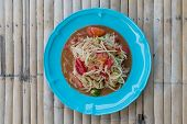 Somtum is favorite thai food and other people like it poster