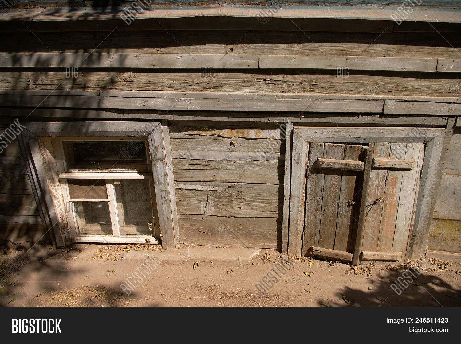Wooden Windows Image Photo Free Trial Bigstock