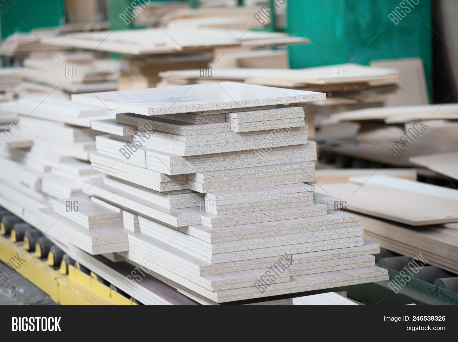 Piles Plywood  Wood Image & Photo (Free Trial) | Bigstock