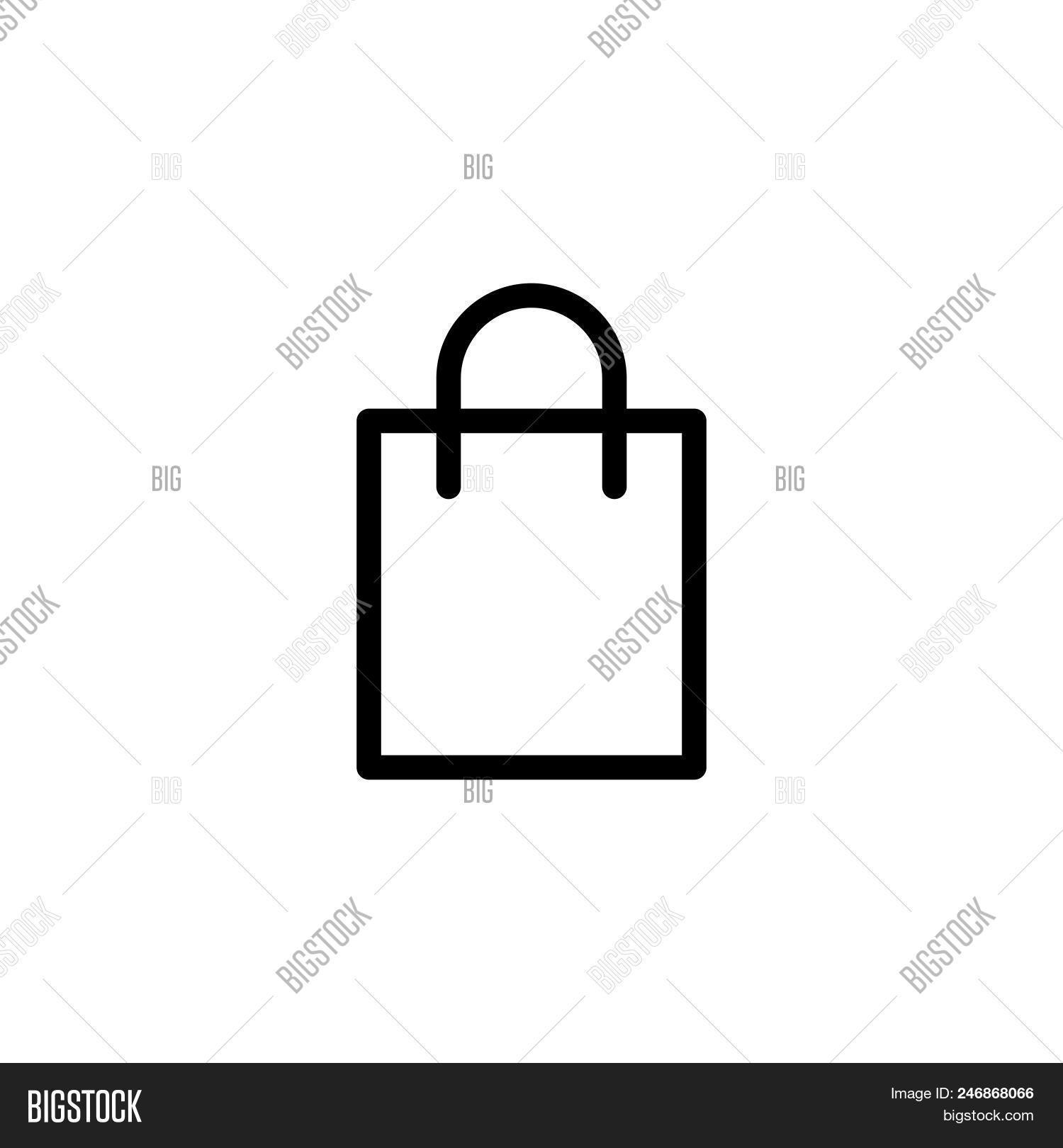 shopping bag vector vector photo free trial bigstock shopping bag vector vector photo
