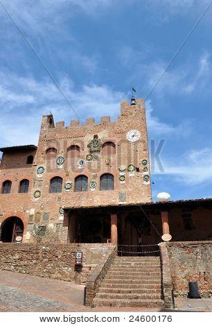 Certaldo Alto in Tuscany