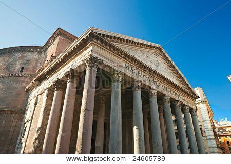 Pantheon, Rome, Italy.