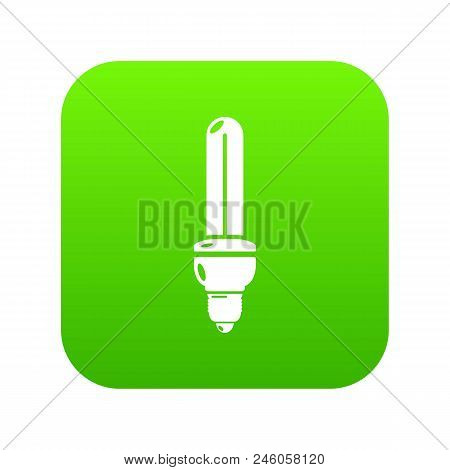 Light Bulb Energy Icon. Simple Illustration Of Light Bulb Energy Vector Icon For Web