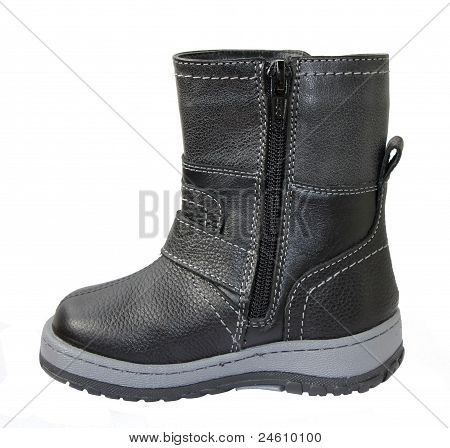 Children's Leather Boots