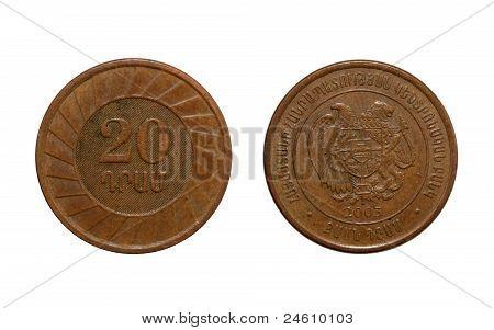 20 Dram,metal Penny