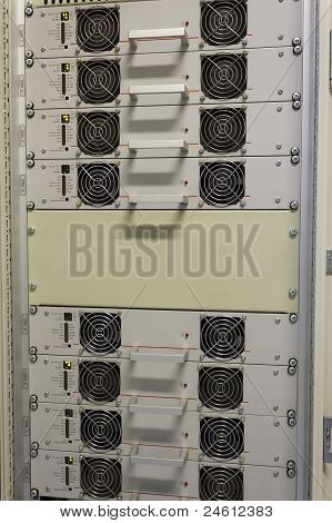 Cooling  Fans In An Ups System